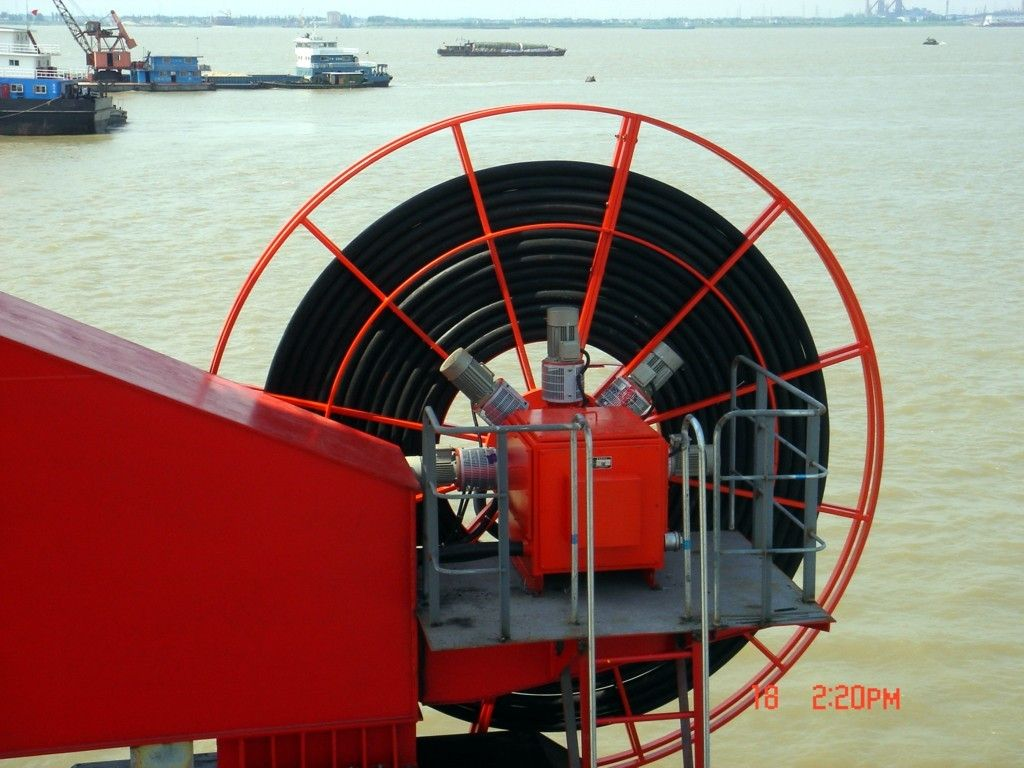 Motorized Cable Reel for Crane